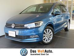 VW ゴルフトゥーランTSI ハイライン 純正ナビ 新車保証付き