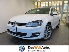 VW ゴルフTSIハイライン 新車保証付き 元デモカー 純正ナビ