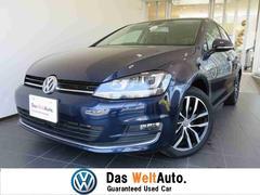 VW ゴルフ新車保証 純正SDナビ 黒革 シートヒーター DSRC