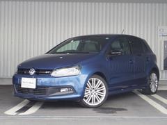 VW ポロブルーGT 自動追従機能 キセノン 純正SDナビ 認定中古車