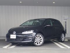 VW ゴルフハイライン 新車保証 純正SDナビ 黒革レザー 認定中古車