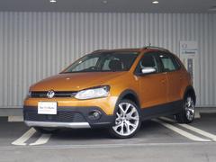 VW ポロクロスポロ 新車保証付 純ナビ Bカメラ 追従 認定中古車