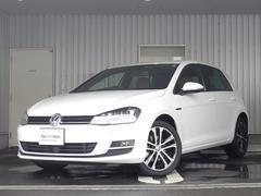 VW ゴルフエディション40 ブラウンハーフレザー 追従機能 認定中古車