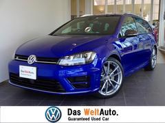 VW ゴルフRヴァリアントカーボンスタイル 元デモカー 新車保証継承 純正ナビ
