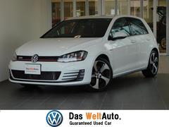 VW ゴルフGTIDCC 1オーナー 純正ナビ 認定中古車保証