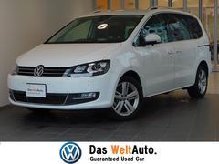 VW シャランハイライン 新車保証 キセノン 純正SDナビ バックカメラ