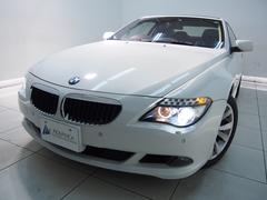 BMW630iクーペ後期電子シフト黒革ガラスSRスマートキー