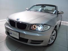 BMW120iカブリオレベージュ革HDDナビXenon黒幌16AW