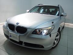 BMW525iツーリングハイライン純正ナビ黒革パノラマSR17AW