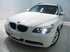 BMW530iツーリングハイラインHDDナビ黒革パノラマSRPDC