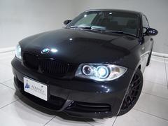 BMW135i7DCT黒革サンルーフHDDナビ18AWローダウン