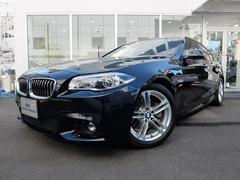 BMW528i Mスポーツ 2年保証付 ベージュ革 LEDライト