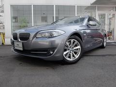 BMW523i ハイラインパッケージ2年保証付 純正ナビ 黒革