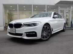 BMW523d Mスポーツ 2年保証付 ブラックレザー