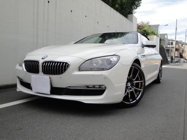 BMW 640iカブリオレ 白革 HDDナビ 地デジ 20AW