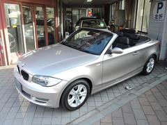 BMW120i カブリオレ レザー シートヒーター ナビ ETC