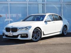 BMW740i MスポーツLEDサンルーフ黒革19インチアルミ