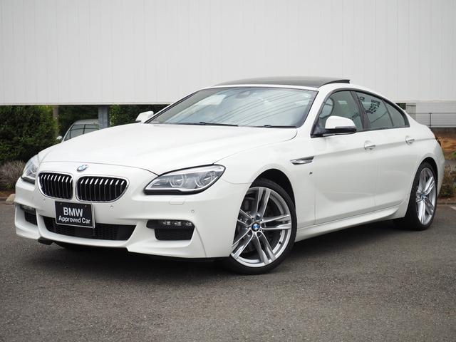 BMW 640iグランクーペ Mスポーツ ヘッドアップD黒革ACC