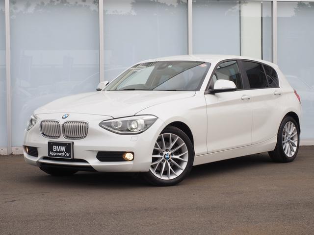 BMW 1シリーズ 116i ファッショニスタベージュ革1オーナー...