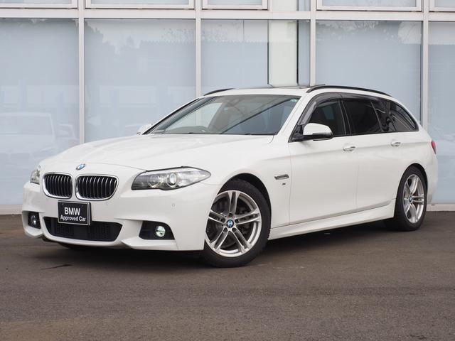 BMW 5シリーズ 523dツーリング Mスポーツサンルーフ1オー...
