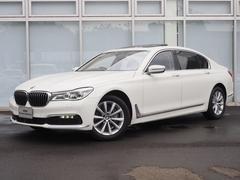 BMW740Li 弊社デモカー パノラマサンルーフ 黒革 シート