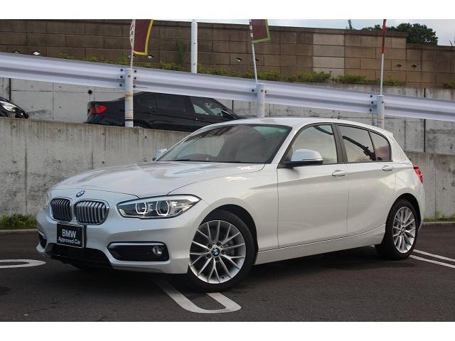 BMW 1シリーズ 118i ファッショニスタ ベージュ革シート ...