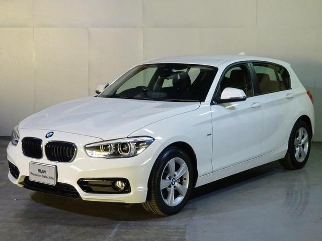 BMW 1シリーズ 118i スポーツ社有車・LED・専用ハンドル...