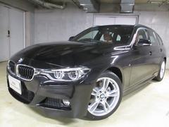 BMW318iツーリング Mスポーツサドル茶革後期ナビ新車保証