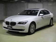 BMW750i黒レザー 左ハンドル
