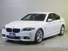 BMW523i Mスポーツ 黒革・ナビ・カメラ・PDC・ACC