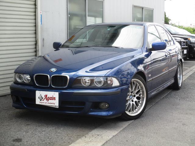 BMW 525i Mスポーツパッケージ 黒本革シート SDナビETC