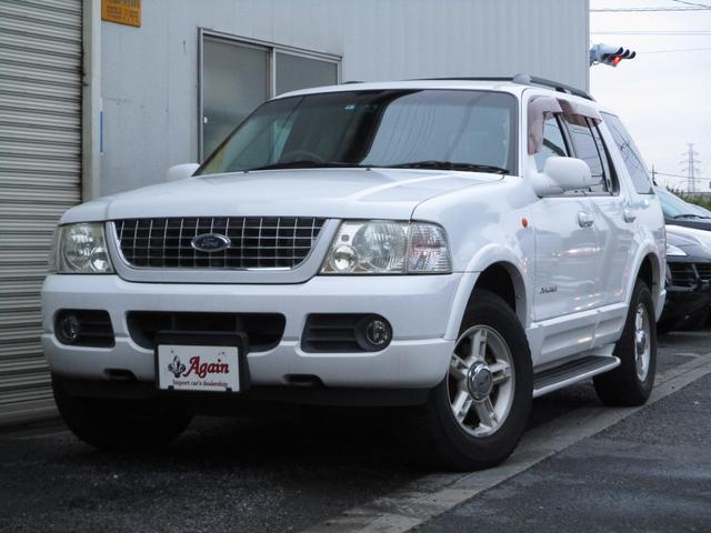 フォード エディバウアーホワイトエディション1ナンバー地デジHDDナビ