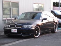 BMW745LiMスポーツPKGHDDナビWマフラーSR20AW