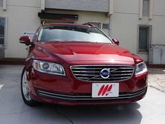 ボルボ V70T5SEベージュ本革HDDナビ地デジTVキセノン新車保証中