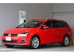 VW ゴルフヴァリアントTSIハイライン ナビ Bカメラ 登録済未使用車 認定中古車