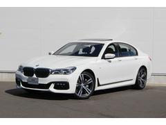 BMW740iMスポーツ 認定中古車 純正ナビ プラスPKG