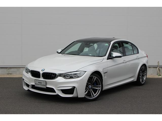 BMW M3認定中古車 純正ナビ 禁煙車 ワンオーナー 弊社下取り車