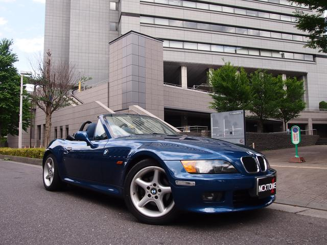 BMW Z3ロードスター 2.2 ワイドボディ ワイドボディ 実走...