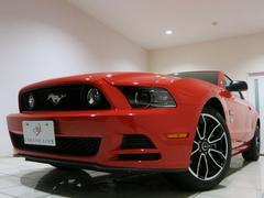 フォード マスタングV8GT限定車アピアランスP赤白革席 ドア内赤革馬バッチ