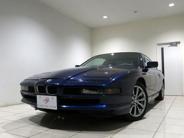 BMW 8シリーズ 850i 記録簿 SR 本革Pシートヒータ E...