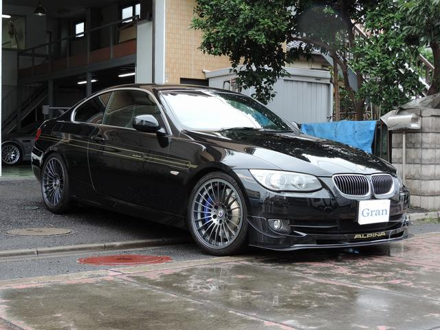 BMWアルピナ GT3 世界限定99台 右H 専用レカロシート 純正ナビ