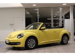 VW ザ・ビートル・カブリオレワンオーナー 禁煙車 Rカメ 黒レザー