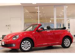 VW ザ・ビートル・カブリオレナビ Rカメ ETC 黒レザー ワンオーナー