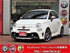 アバルト アバルト595ツーリズモ 当店元デモカー 新車保証継承 レッドレザー