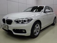 BMW118d スポーツ 後期モデル LEDライト 正規認定中古車