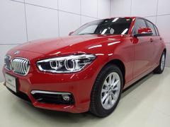 BMW118d スタイル 後期モデル 正規認定中古車