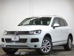 VW トゥアレグV6アップグレードP パノラマサンR 黒革 1オナ 1年保証