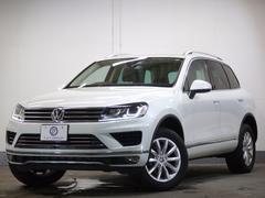VW トゥアレグV6アップグレードP 現行 新車保証 ACC 地デジナビ 革