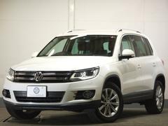 VW ティグアンスポーツ&スタイル後期 革 1オナ地デジナビBカメ 1年保証