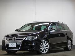 VW パサートヴァリアントR36 1オーナ V6 4WD DCCサス 地デジ 2年保証